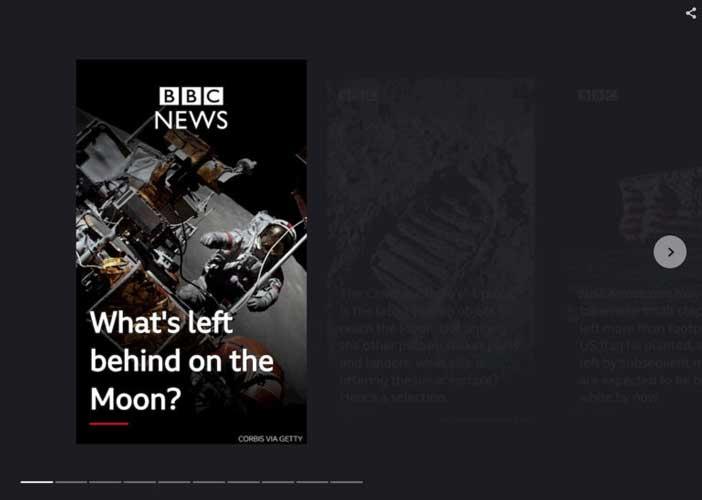 نمونه گوگل وب استوری bbc