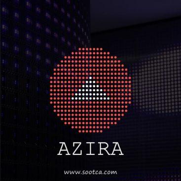 طراحی لوگو شرکت بازرگانی آزیرا