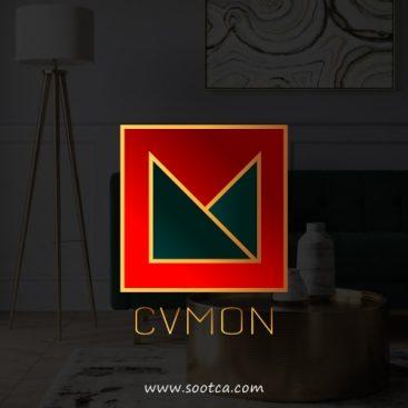 طراحی لوگو دکوراسیون داخلی سی وی مون
