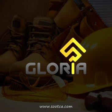 طراحی لوگو شرکتی گلوریا