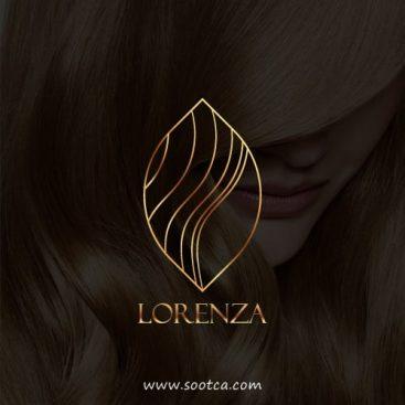 طراحی آرم آرایشگاه زنانه لورنزا